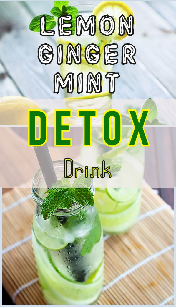 lemon-ginger-mint-detox-drink