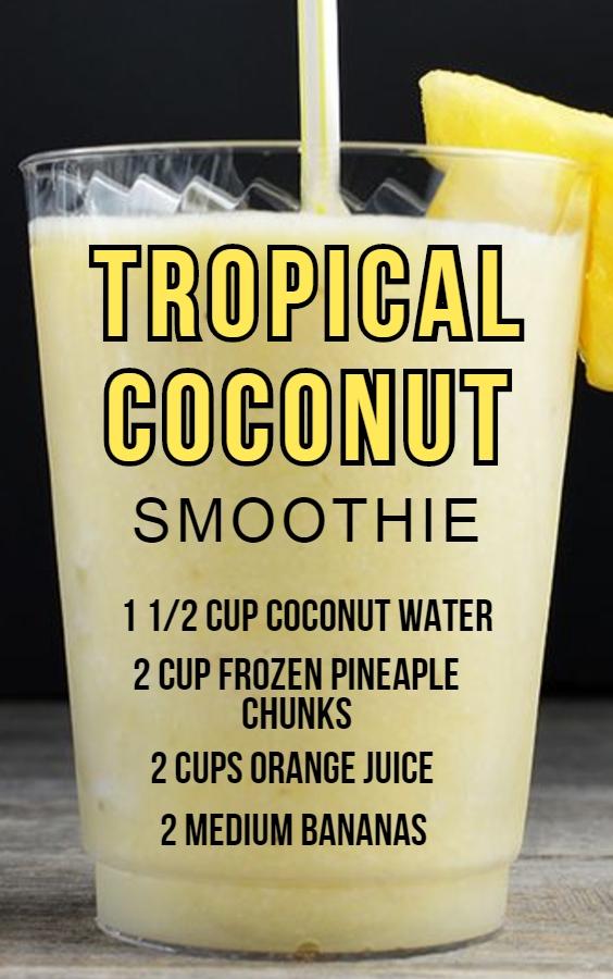 tropical-coconut-smoothie-drink-recipe-